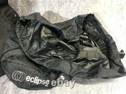 Eclipse Motorcycle Expandable Tank Bag Vintage Noir