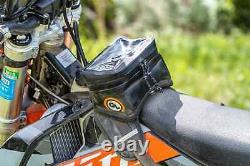 Géant Boucle Buckin Rouleau Moto Noir Réservoir Sac-dirt Bike, Dual Sport