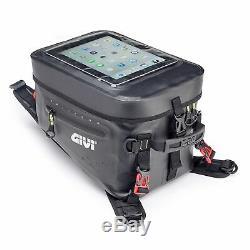 Givi Grt715 Gravel T Wp Sacoche De Réservoir Moto 20ltr Noir