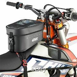 Givi Grt716 Gravel T Wp Sacoche De Réservoir Moto 10ltr Noir