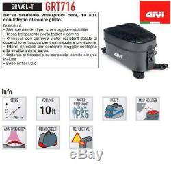 Givi Grt716 Imperméable Moto Adventure Dry Sac Réservoir 10l Gamme Gravel-t