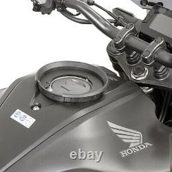 Givi Mt505 5 Litres Moto Moto Sac De Réservoir Et Bf41 Bague De Réservoir - Noir