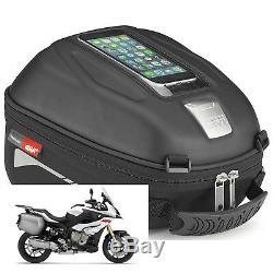 Givi St602 Moto Moto Touring Tanklock Sac 4l Tank Tank W Housse De Pluie