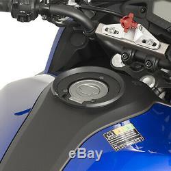 Givi St602b 5 Litres Moto Moto Réservoir Sac & Bf05 Réservoir Bride Anneau Noir