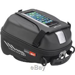 Givi St605 Sport-t Tanklock Sacoche De Réservoir 5l Moto Moto Tankbag Raincover