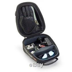 Givi St605 Tanklock 5l Sac De Moto De Réservoir, Porte-téléphone Et 3 Ports Usb Power Hub