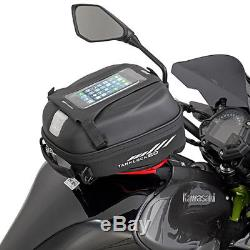 Givi St605 Tanklock 5l Sacoche De Réservoir Moto, Support De Téléphone Et Concentrateur Usb