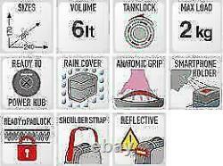 Givi St611 Tank Bag Tanklock Tanklock Bag 6 L Petit Motocycle Tankbag Nouveau 2021