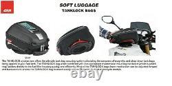 Givi Tanklock 25 Litres Sac De Réservoir De Moto, Enduro Extensible, Noir, Ea118