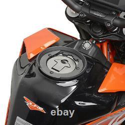 Givi Xs307 15 Litre Motorbike Motorcycle Bag & Bf33 Tank Ring Flange Noir