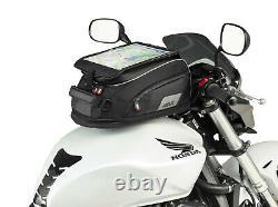 Givi Xs307 15 Litres Moto De Moto Réservoir Sac & Bf05 Bride Anneau Noir