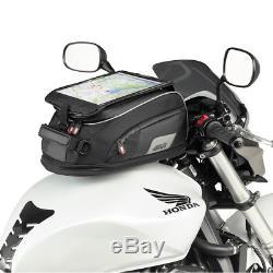 Givi Xs307 Xstream Range Sacoche De Réservoir Extensible Tanklock Réfléchissant Pour Vélo De Moto