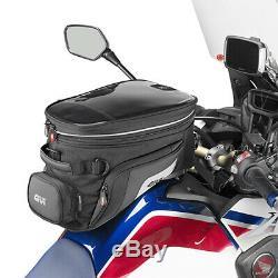 Givi Xs320 Tanklock Moto Sac De Réservoir Extensible Avec Réservoir De Verrouillage Et Carte Pocket