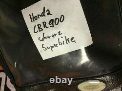 Honda Cbr900 Superbike Tanktasche Schwarz
