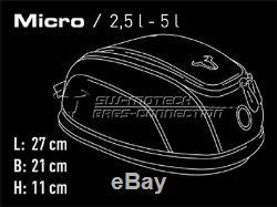 Honda Crossrunner Vfr800x De Yr 15 Quicklock Evo Micro Moto Set Sac De Réservoir