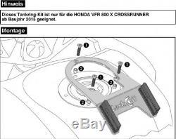 Honda Vfr800x Crossrunner De L'année 15 Held Martello Un Sac De Réservoir De Moto 19l