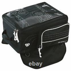 Ixon X-press Black/white Motorbike/motorcycle Tank Bag