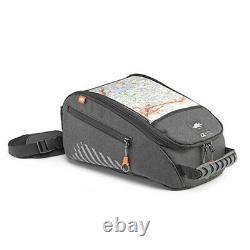 Kappa Ah213 Grey Tanklock System 9 Litres Capacité Moto Moto Tank Bag