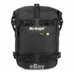 Kriega Us-10 Drypack Sac De Réservoir / Sac De Moto Imperméable Universel 10 Litres