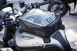 Kuryakyn Xkursion Xt Co-pilote De Moto Réservoir Sac Noir