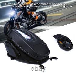 Moto Motocross Quick Release Sac À Réservoir Buckle Sac À Bandoulière Hard Shell