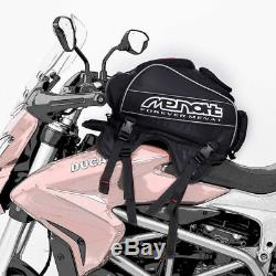 Moto Multifonctionnel Universel Réservoir De Carburant Casque Navigateur Sac À Dos