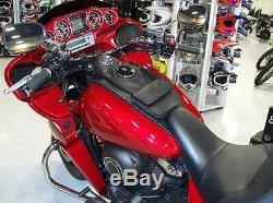 Moto Réservoir Bavoir En Cuir Pour Kawasaki Voyager