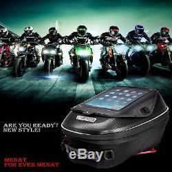 Moto Réservoir D'huile De Gaz Casquette Sac Pour Kawasaki Er-6n / Er-6f 650 2005-2015 Versys650