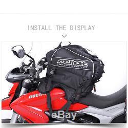 Moto Sacs Sac À Dos Étanche Paquet Réservoir Moto Équitation Voyage Sac Bagages