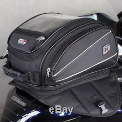 Motodry Nouveau Sacoches De Moto Aventure Touring Zxt-2 Black 14l Tank Bag Pack