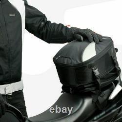 Multi-fonction Motorcycle Tail Rear Seat Fuel Tank Bag Helmet Backpack Crossbody