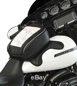 Nelson Rigg Journey Highway Cruiser Motorcycle Magnétique Réservoir Sac Noir