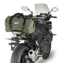 Nouveau Givi MX 40l Kaki Waterproof Vert Off Road Motorcycle Bag Tail / Rouleau