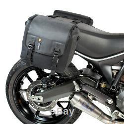 Nouveau Kriega Duo 28 100% Étanche Pannier Touring Motorcycle Saddlebags