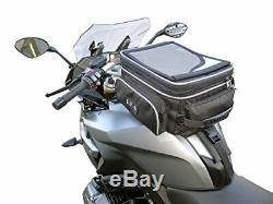 Nouveau Rka Moto 26 Litres Sacoche De Réservoir Extensible Sonoman 3 Point