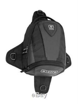 Ogio Supermini Furtif Adventure Pack Black Tail Motorcycle Bag Tanker