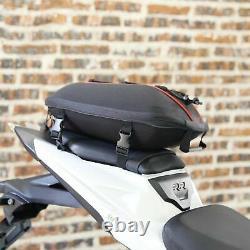 Oil Carburant Sac De Réservoir Pack Siège Arrière Moto Tail Boxes Racing Pack Sac De Selle