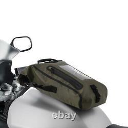 Oxford Aqua M8 Moto Moto Sac De Réservoir Khaki / Noir