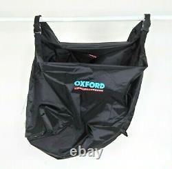 Oxford Lifetime Black Sac À Bagages De Moto Pannier Imperméable Doublure