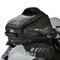 Oxford M30r 30 Litres Magnétique Moto Bagages Sac De Réservoir Noir Ol245