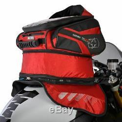 Oxford M30r Moto Moto 30l Capacité Magnétique Sac De Réservoir Rouge Ol246