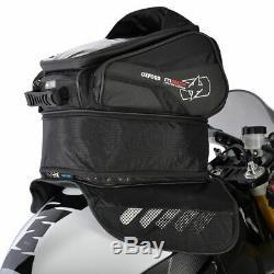 Oxford M30r Motorcycle Sac Réservoir Moto Magnétique Noir Sacoche De Réservoir 30l Nouveau