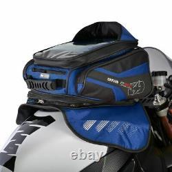 Oxford M30r Motorcycle Tank Bag Moto Magnetic Tankbag Blue 30l Nouveau