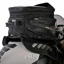 Oxford M40r 40 Litres Waterproof Magnétique Sac De Réservoir De Moto Bagages Noir Ol205