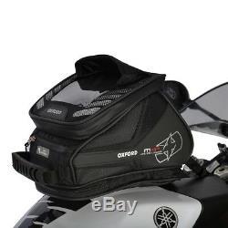 Oxford M4r Motorcycle Queue De Réservoir Magnétique Sac À Vie Luggage Noir 4l Ol255 T
