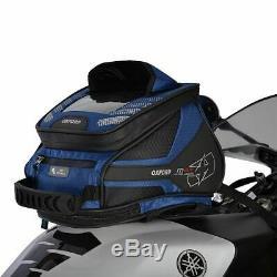 Oxford M4r Motorcycle Sac Réservoir Moto Queue Sac Tank'n ' Tailer Bleu (ol257)