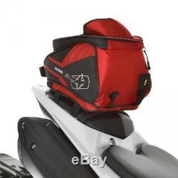 Oxford Ol256 M4r Magnétique Moto Réservoir Et La Queue Rouge Sac 4 Litres