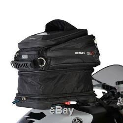 Oxford Q15r Qr Moto Moto 15l Carte Holder Réservoir Légères De Sac Noir