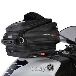 Oxford Q15r Qr Quick Release Universal Motor Bike Sac De Réservoir De Moto Noir