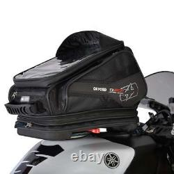 Oxford Q30r Qr Quick Release Motor Bike Moto Bagages Réservoir Sac Noir